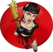 Red Stick Roller Derby Logo